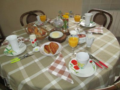 breakfast for Coquelicots